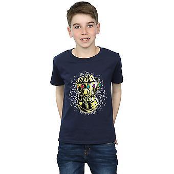 The Avengers jungen Infinity Krieg Thanos Fist T-Shirt