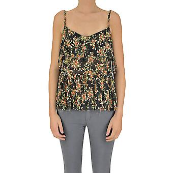 Jucca ladies MCGLTPT03097E multicolor viscose top