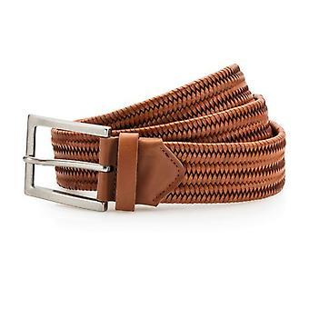 Asquith & Fox Mens Leather Braid Belt