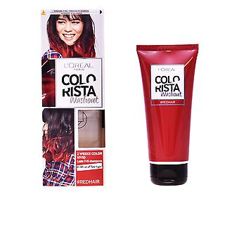 L'oreal Colorista Wash Out Coloracion Temporal 12 Red 4 Pcs Womens Sealed Boxed