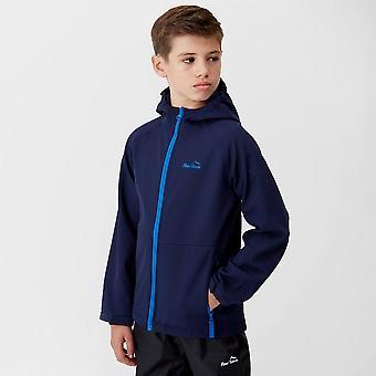 Navy Peter Storm Kids' Seb Softshell Jacket