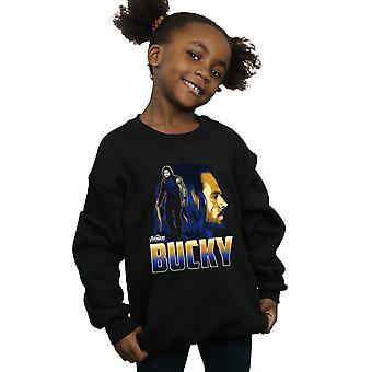 Marvel Girls Avengers Infinity War Bucky Character Sweatshirt