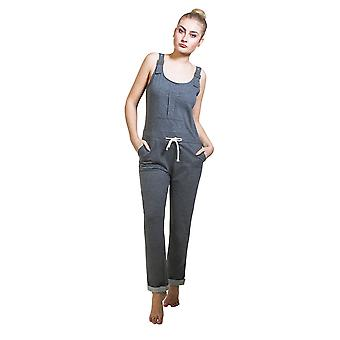 Damen Overall - graue All-in-One insgesamt Playsuit One Size UK 8-12