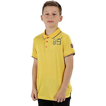 Regatta Boys & Girls Talor Moisture Wicking Quick Drying Polo Shirt