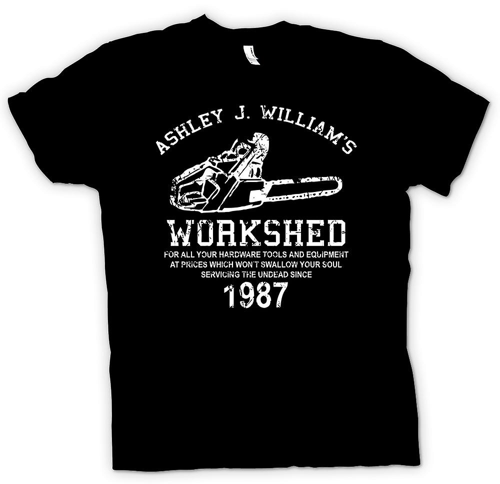 Womens T-shirt-Evil Dead - Ash Williams - kettingzaag
