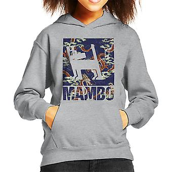 Mambo Japan Dog Kid's Hooded Sweatshirt