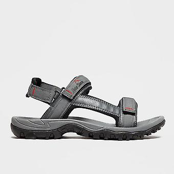 New Peter Storm Men's Saunton II Sandals Dark Grey
