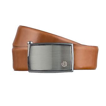 Cinture da Bugatti Cinture uomo in pelle automatica fibbia della cintura Cognac 3156