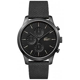 Lacoste Mens 12.12 85th Anniversary Triple Black 2010947 Watch