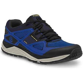 Terraventure Mens Low Drop & Wide Toe Box Trail Running Shoes Blue/Black