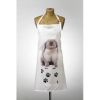 Adorable rabbit design apron