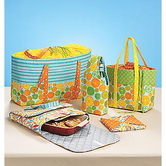 Carriers, Hot Pad and Picnic Totes-One Size Only -*SEWING PATTERN*