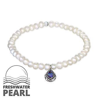 Tear Drop - 925 Sterling Silver Bracelets de chaîne - W30890X