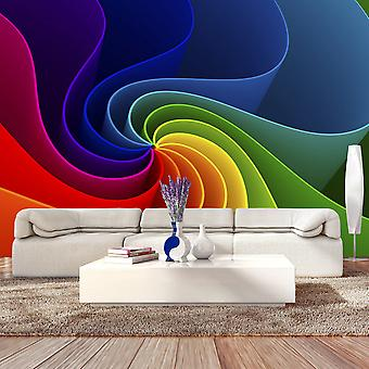 Wallpaper - Colorful Pinwheel