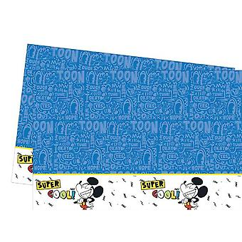 Mickey super cool Micky Maus party tablecloth 120 x 180 cm Kids Birthday 1 piece