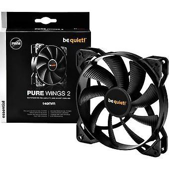 BeQuiet Pure Wings 2 PWM PC fan Black (W x H x D) 140 x 140 x 25 mm