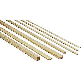 Pineta bar Graupner (L x W x H) 1000 x 3 x 2 mm 10/PC