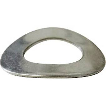 TOOLCRAFT A2 D137-A2 192069 Split lock washers Inside diameter: 2.2 mm M2 DIN 137 Stainless steel A2 100 pc(s)