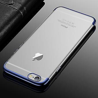 Cell phone cover case for Apple iPhone 6 / 6s transparent transparent blue