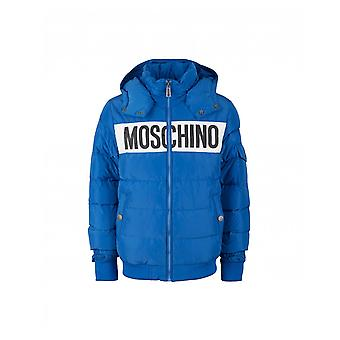Moschino voorkant Logo Puffer Jack