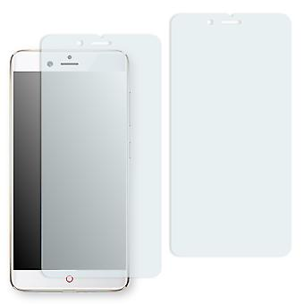 Nubia Z17 mini screen protector - Golebo crystal-clear protector (deliberately smaller than the display, as this is arched)