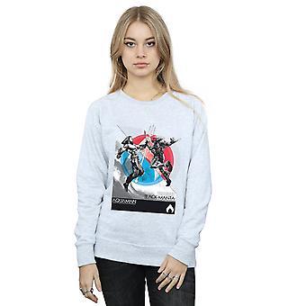 DC Comics Women's Aquaman Vs Black Manta Sweatshirt
