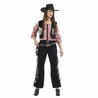 Costume féminin Montana costume de dames pour le brigand Cowgirl Wild West