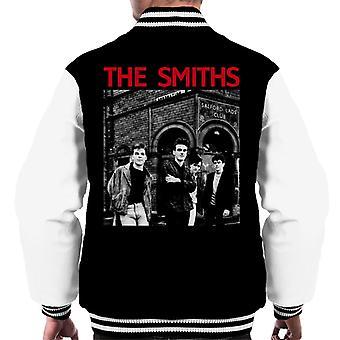 The Smiths Salford Lads Club Manchester Band Shot Men's Varsity Jacket