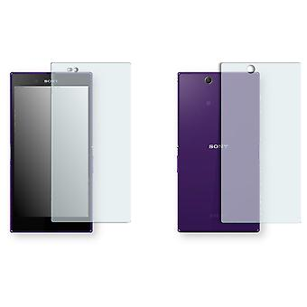 Sony Togari display protector - Golebo crystal-clear protector (1 front / 1 rear)