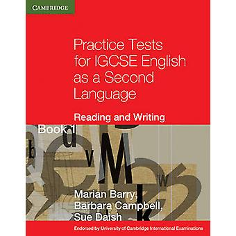 Practice Tests for IGCSE English as a Second Language - Reading and Wr