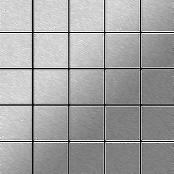 Metal mosaic Stainless Steel ALLOY Century-S-S-MB