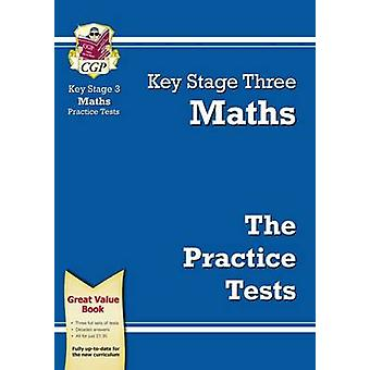 KS3 Maths Practice Tests (2nd Revised edition) by CGP Books - CGP Boo