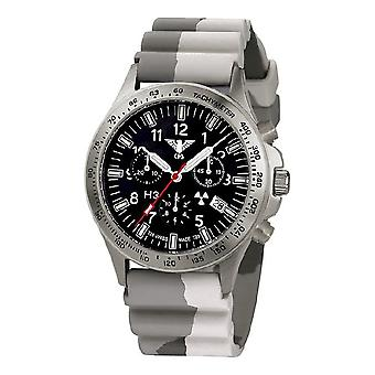 KHS watches mens watch platoon titanium chronograph KHS. PTC. DC5