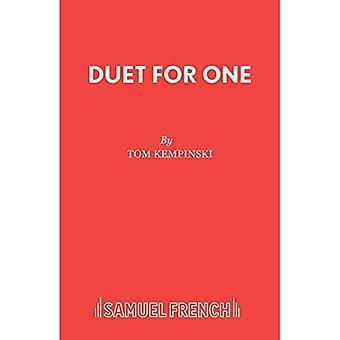 Duet for One (par intérim édition S.)