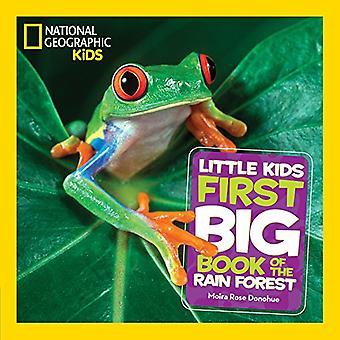 Små barn första stora bok av regn skog (första stora bok) (första stora bok)