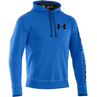 Under Armour 2015 Mens Storm Cotton Graphic Hoody (Blue Jet)