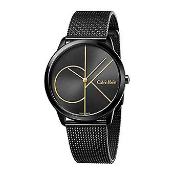 Calvin Klein Mens Quartz Analog Watch with stainless steel band K3M214X1
