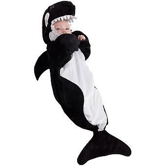 Walvis baby kostuum