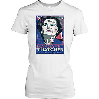 Margeret Thatcher - The Path to Power Ladies T Shirt