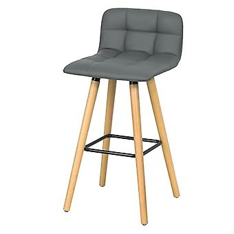SoBuy Kitchen Breakfast Barstool, Bar Stool with PU Leather FST50-HG