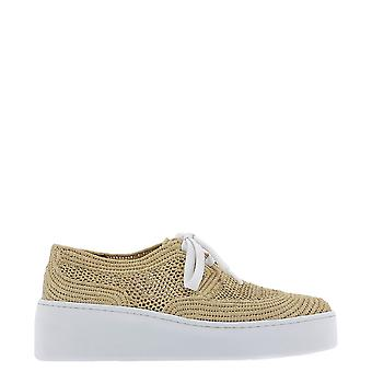 Robert Clergerie Taille Nude Canvas Sneakers