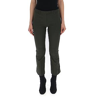 Max Mara Green Cotton Pants