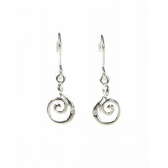 Cavendish French Silver Curly Wurly Earrings