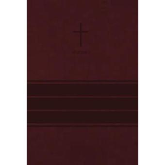 NIV - Value Thinline Bible - Imitation Leather - Burgundy - Comfort P
