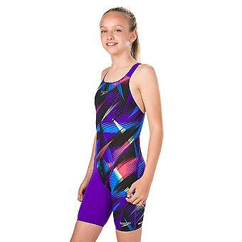 Speedo Fastskin Junior Endurance Openback Kneeskin Competition Swimwear