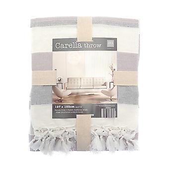 Country Club Carella stripe kasta 127 x 152 cm