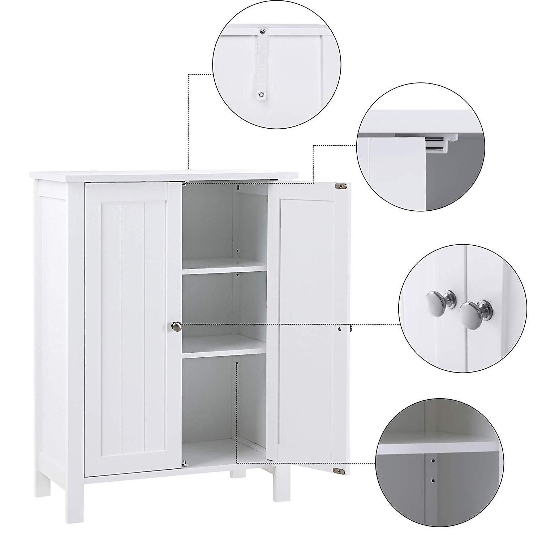 Bathroom cabinet with two doors