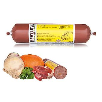 Meatlove Weide aufgezogen Ziege Single Protein Chub Rolls für Hunde, 800g