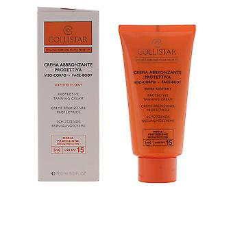 Collistar Perfect Tanning Protective Cream Spf15 150ml Unisex New