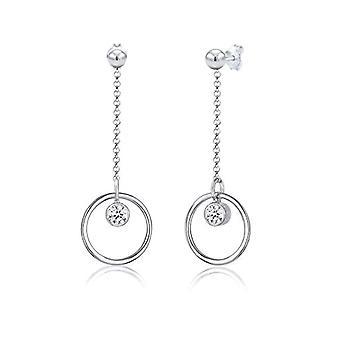 Elli Silver Women's Pin Earrings 310812017